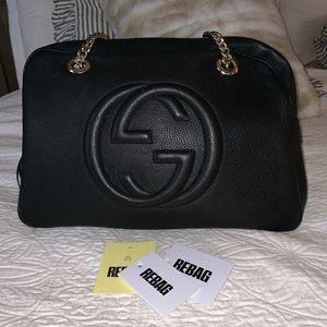 Gucci Bags - Gucci soho shoulder bag ❤️